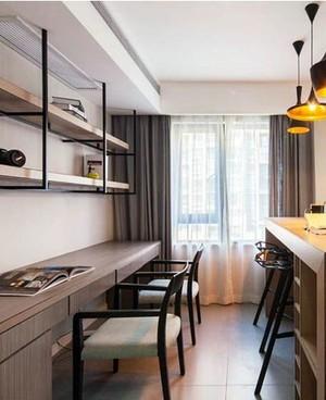 扑捉时尚之美:都市白领100平单身公寓装修效果图