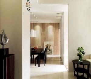优雅人家:130平米三居室新房装修设计效果图