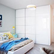 公寓敞亮卧室欣赏
