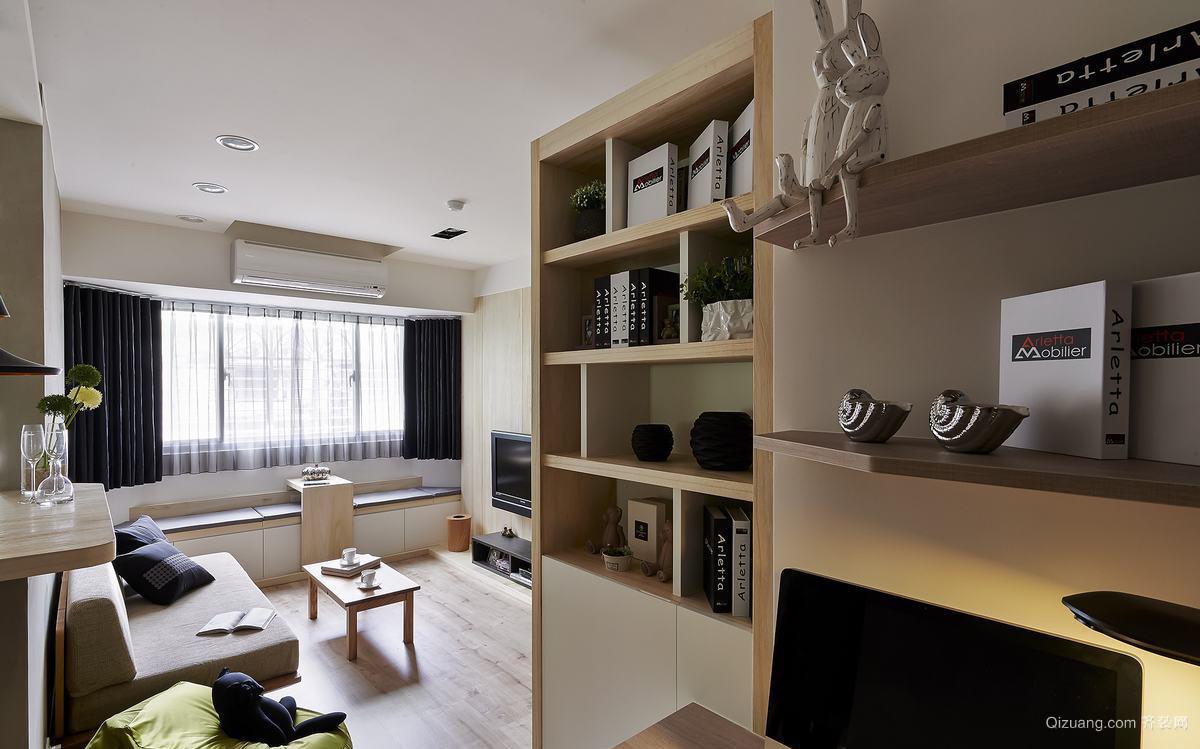 110平大户型美式客厅精美吊顶装修效果图