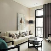 新房客厅沙发茶几图