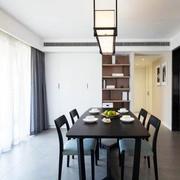 公寓餐厅餐桌椅摆放