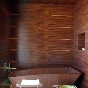 卫生间整体原木装修