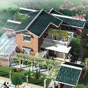 整体农村二层房屋设计图