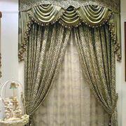 时尚风格飘窗窗帘设计