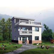 农村二层房屋设计图