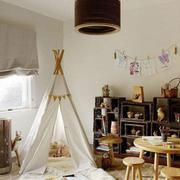 白色帷幔式典雅型小卧室设计