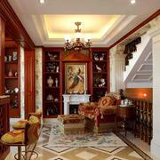 别墅客厅装修色调搭配