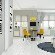 公寓灰白色调墙面展示