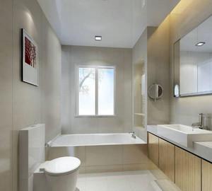2015三居室唯美风格卫生间装修效果图