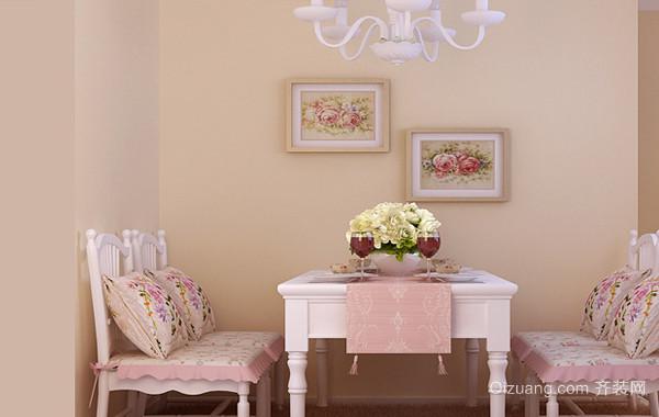 小户之家:精美韩式1居室家装设计效果图