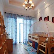 儿童房简约风格吊顶设计