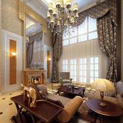 绚丽的别墅客厅装修图