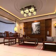 中式家装客厅效果图