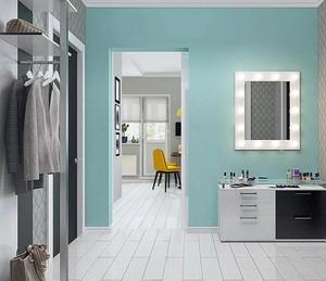 72平都市女性小公寓装修效果图