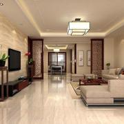 中式家装客厅色调搭配