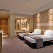 40平酒店双人间设计
