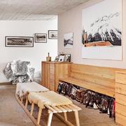 精美现代型30平米小客厅设计