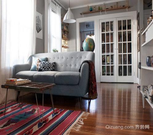 波兰简约风格:小户型新房装修效果图