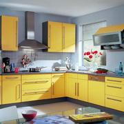 开放式厨房设计色调搭配