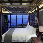 经典美式酒店床饰装修