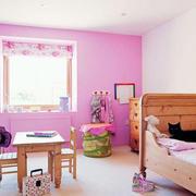 简约粉色儿童房装饰