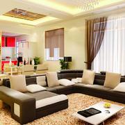 客厅窗帘设计图片
