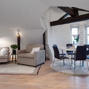 欧式一居室小型精简型客厅设计