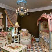 公主风优雅儿童房装饰