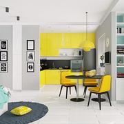 公寓黑白装饰画图