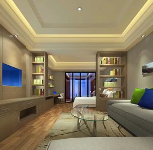 时尚风格小型单身公寓住宅装修效果图