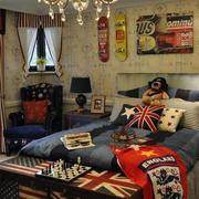 儿童房卧室床头背景墙
