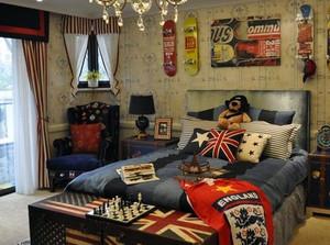 勾勒童话般的世界:美式儿童房装修设计