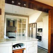 现代完美的开放式厨房图