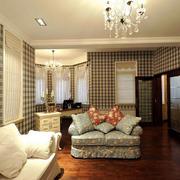 暖色调客厅设计图片