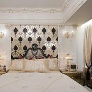 舒适的卧室壁纸装修图