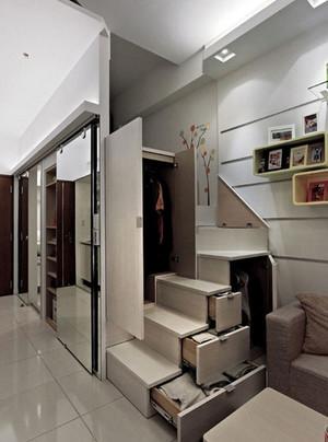 冷色调公寓设计案例