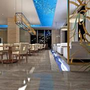 酒店现代化大厅设计