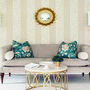 田园大印花式沙发靠枕设计