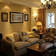 室内客厅沙发装饰