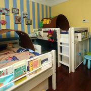 儿童房卧室照片墙装饰