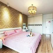 小户型卧室液体壁纸图