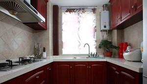 138平米大户型简欧风格厨房装修效果图