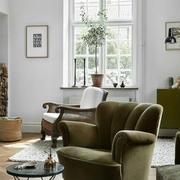 欧式小户型30平米客厅设计