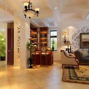 别墅客厅装修整体设计
