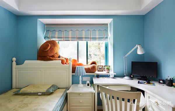 纯真童话:120平米地中海风格家装设计效果图