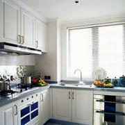 开放式厨房装修整体图