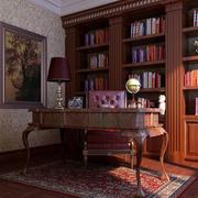 深色调书房设计大全