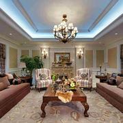 室内客厅吊顶设计