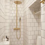 卫生间白色瓷砖设计